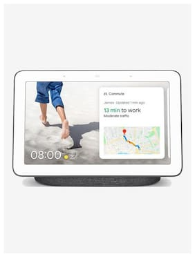Google Nest Hub Portable Speaker (Charcoal)
