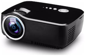 GP70 Latest Portable Projector HD support 1080p HDMI/TV/USB/SD card projector 3D LED Projector