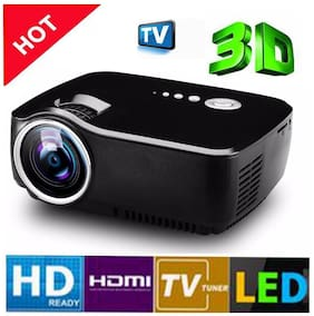 GP70 Updated Mini Portable Led Projector Mutimedia Projector Home Cinema