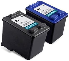 Green 21+22 Recycled Cartridges - Multi (Pack Of 2)