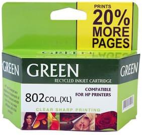 Green 802XL Ink Cartridge (Multi Color)