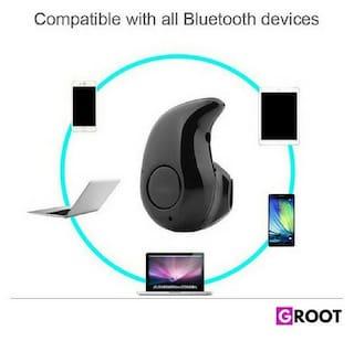 3a96168c30f Groot Presents Mini Wireless Kaju Style Bluetooth Headset Universal Earphone  With Mic