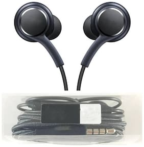 GROSTAR Akg140 In-ear Wired Headphone ( Black )