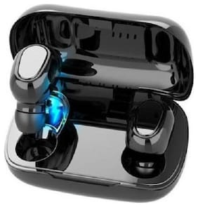 Happiesta TWSL21 True Wireless Bluetooth Headset ( Black )