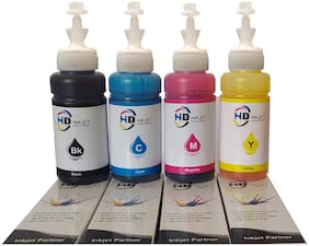 HD INKJET Refill Ink for Canon G Series Compatiable With G1000,G1010,G110,G2000,G2010,G6070 (70gm*4).