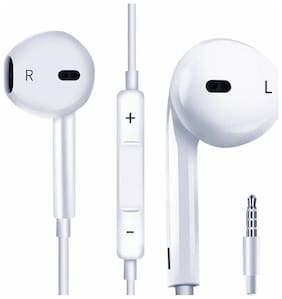 Headphones With Mic For iPhone, Apple, iPhone 4 / 4s / 5 / 5s / 6 / 6s iPad With 3.5mm Jack With Mic And Volume Button Earphone With Mic