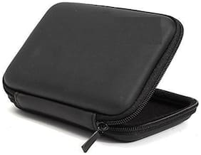 Hi-Lite Hard Disk Drive Pouch case for 2.5 HDD Cover WD Seagate Slim Sony Dell Toshiba (Black)