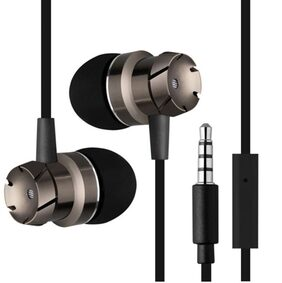Mobilife Metal In-Ear earphone, Extra Bass, Remote control, Mic and Phone call