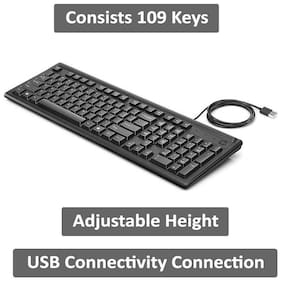 HP 100 Wired Keyboard