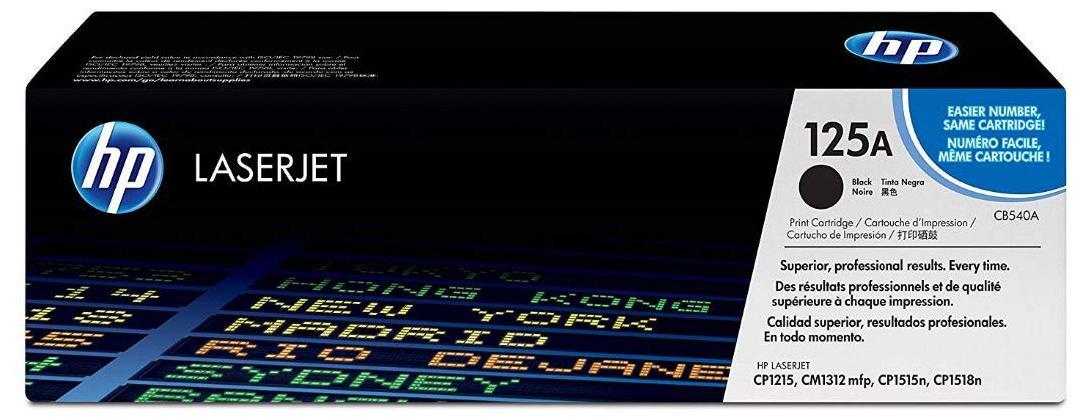 HP 125A Black Cartridge CP1215/1515  Laserjet Printer  CB540A
