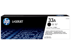 HP 33A Black Laserlet Toner Cartridge (CF233A)