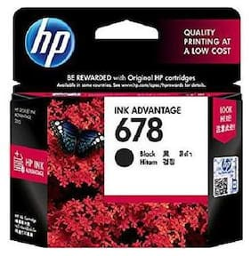 HP 678 Black Ink Advantage Cartridge