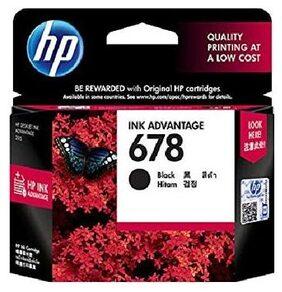 HP 678 Black Ink Advantage Cartridge