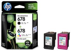 HP 678 Tri/Black Colour Ink Cartridge Combo 2 Pack