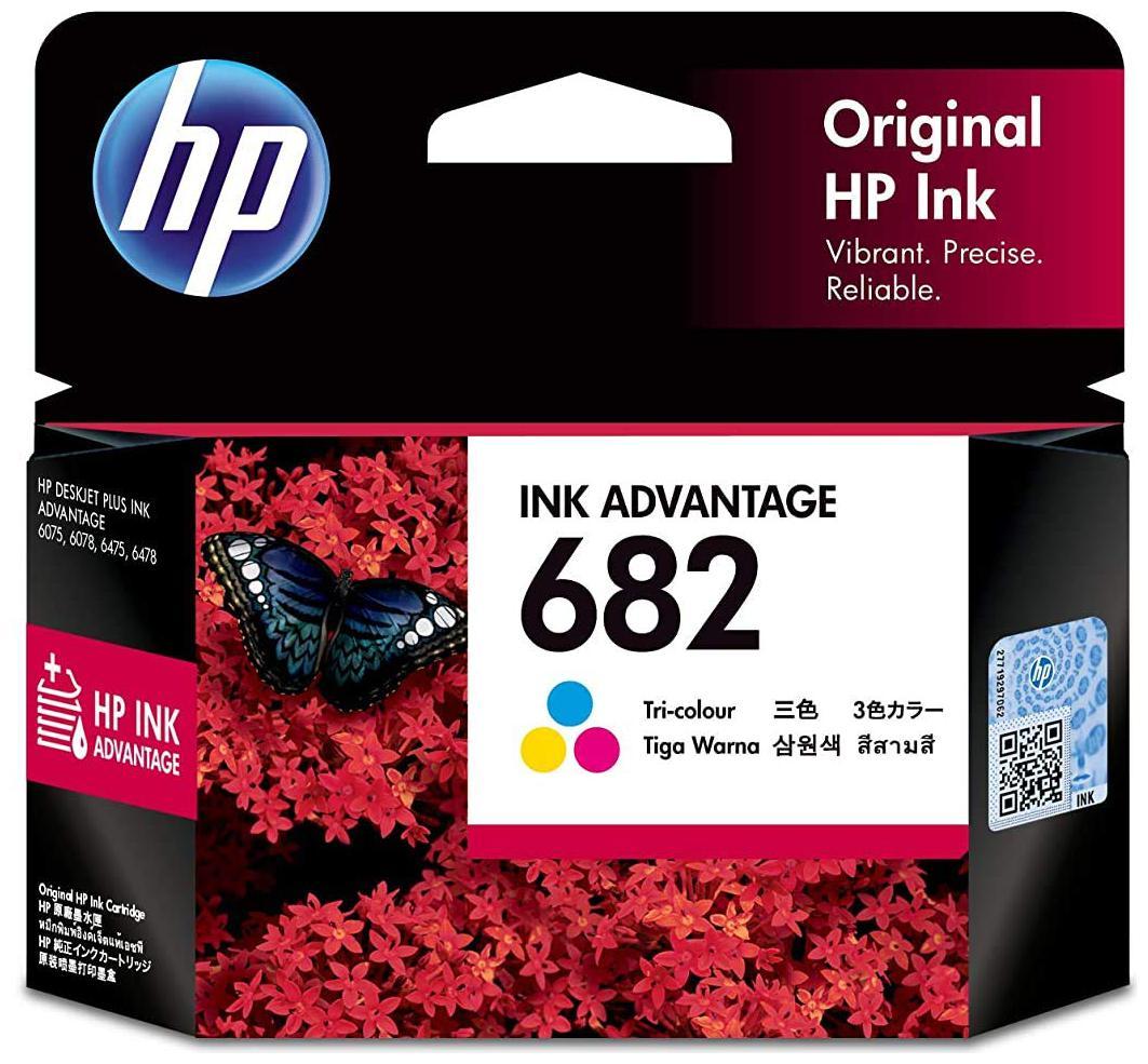 Hp 682 Tri Color Original Ink Cartridge