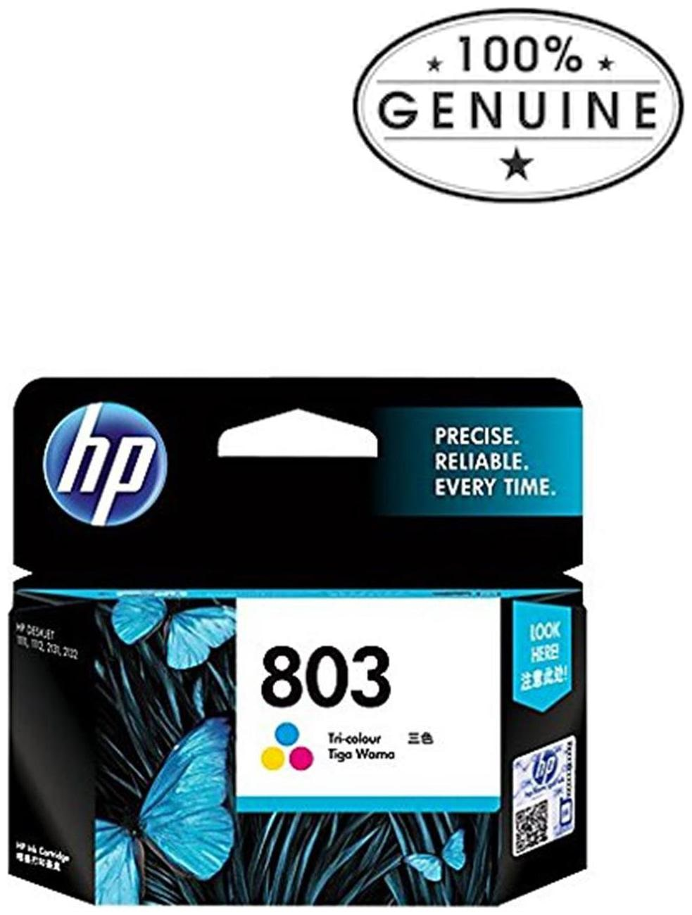 HP 803 Tri color Ink Cartridge by Pine Digital