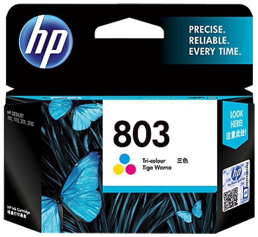 HP 803 TRI ORIGINAL INK CARTRIDGE by JMD Infotech