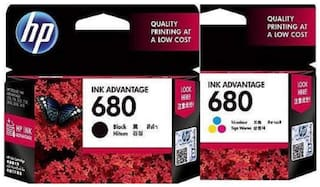 HP Combo 680 Black & Colour Set
