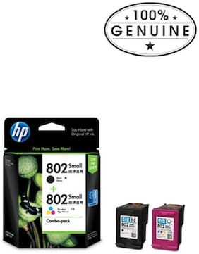 HP Cr312aa Black & Tricolor Ink Cartridges