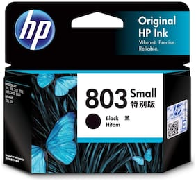 HP F6V23AA 803 Small Ink Cartridge (Black)
