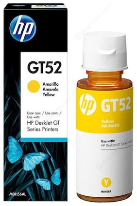 HP GT Single Color Ink  (Yellow)