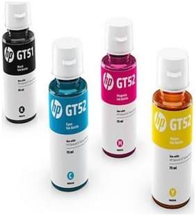 HP GT51 Original Ink  (Magenta, Black, Yellow, Cyan)