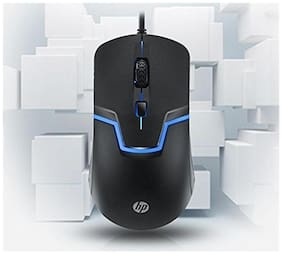 HP Wired Mouse ( Black )