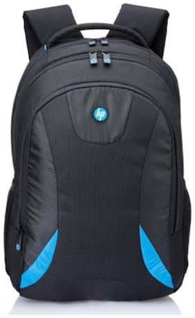 HP Premium 38.1 cm (15 inch) Laptop Backpack (Black & Blue)
