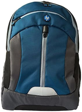 HP Premium Laptop BackPack 15.6 for Unisex (Blue & Grey)