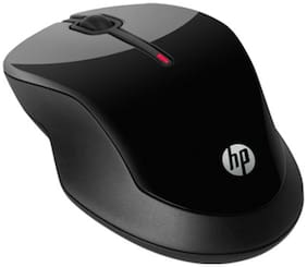 Hp X3500 Wireless Optical Mouse  Black