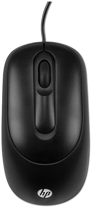 HP X900 USB (Wired) USB Mouse (Black)