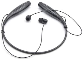 Altronics High Quality Neck-Around Stereo Sports Wireless Joggers Headphone In-Ear Bluetooth Headset ( Black )