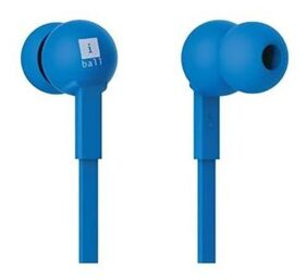 I ball Colorstick In Ear Wired Earphones With Mic Blue