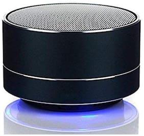 I-Birds Enterprises A18 Portable Wireless Super bass Mini Metal Aluminium Alloy Bluetooth Speaker with Mic for All Smartphones (Assorted Color)