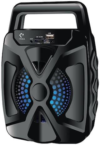 I KALL IK-101 Bluetooth Portable speaker ( Black )