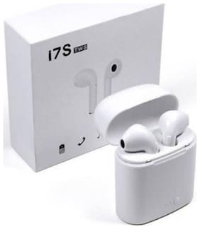 AFRODIVE i7 TWS Twins HD Sound ( In-Ear Bluetooth Headset ( White )