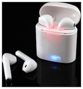 I7s TWS I7 Mini Wireless Double Bluetooth Earphone Stereo Earbuds Headset with Dock Box Twins Earpieces in Ear for All Mobiles
