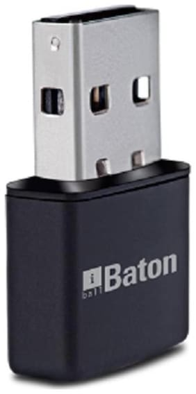 iBall iB-WUA300NM 300 Mbps Wireless USB Adapter (Black)