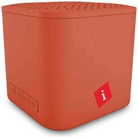iBall MUSICUBE Bluetooth Portable speaker ( Burnt orange )