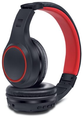 iBall Bt01 Over-ear Bluetooth Headsets ( Black )