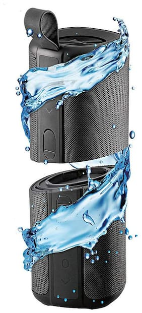 iBall MUSI TWINS 15W Bluetooth Portable speaker ( Black )