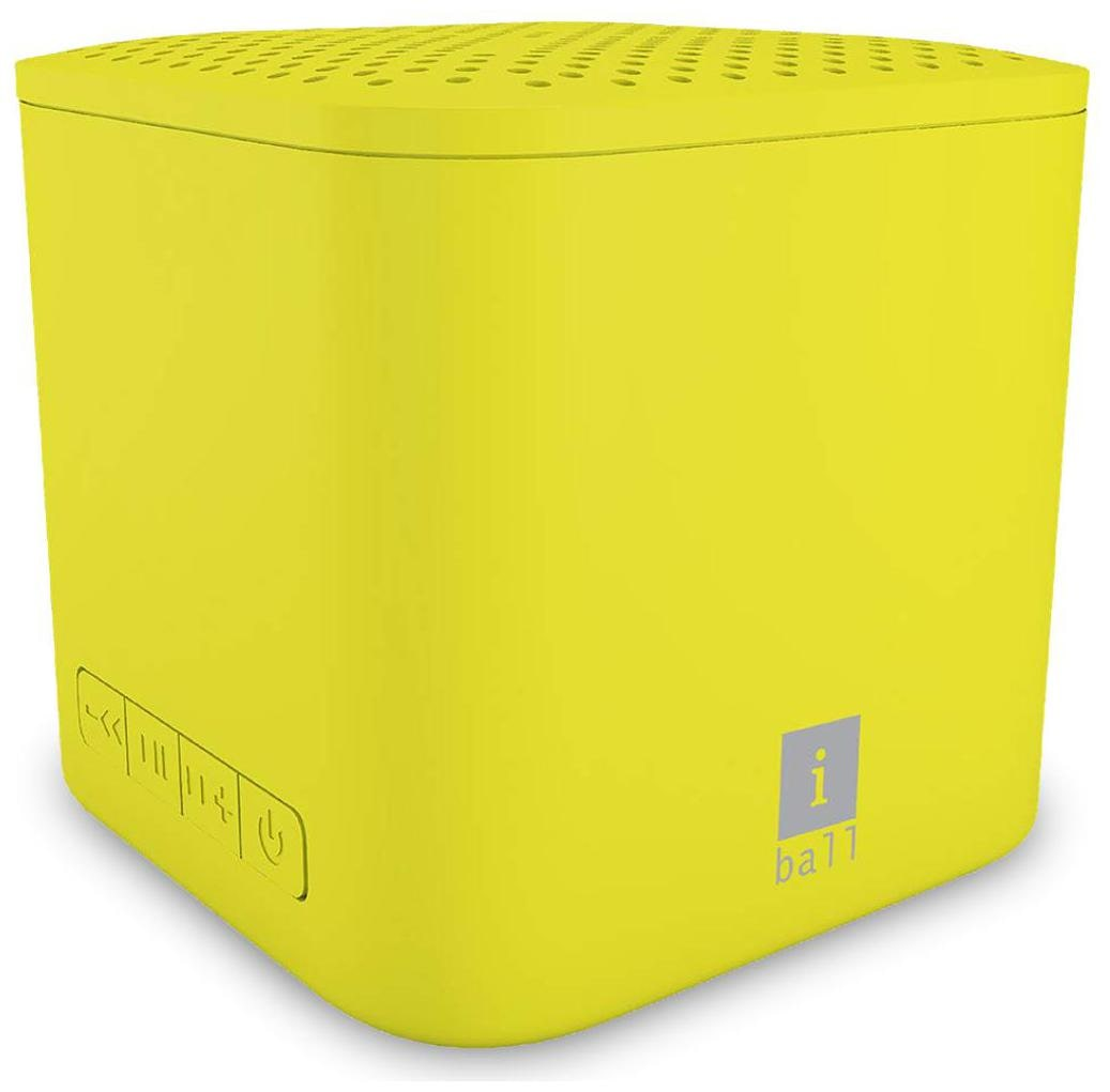 iBall MUSICUBE Bluetooth Portable speaker   Yellow   by Esell Laptop