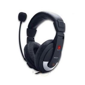 iBall Rocky Headset In-the-ear Headphone Black)