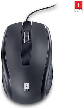 iBall Syle_63 Wired Mouse ( Black )