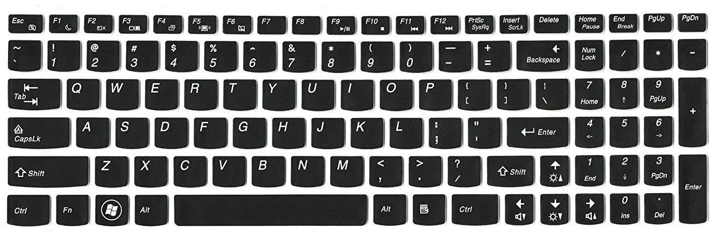 iFyx Keyboard Protector Silicone Skin Cover for Lenovo G G50 80 80E502Q3IH 15.6 inch Laptop