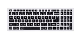 """Ifyx Silicone Keyboard Skin Cover for Acer Predator Helios 300 17"""" PH317-53 ( 2020) Gaming Laptop (Black)"""