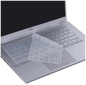 """Ifyx Silicone Keyboard Skin Cover for Dell Inspiron 13 5000 series 5390 5391 5300 5301 7000 7390 7391 13.3"""" (2019-2020) Laptop (Transparent)"""