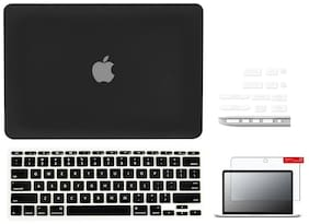 IFyx Soft Touch Matte Hard Protective Shell Case Cover Skin For Macbook Air 11 Inch A1370 / A1465 (2011-2016) + DustPlugs + Keypad + Screen Guard
