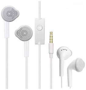 Ikart IKTEAR27 In-Ear Wired Headphone ( White )