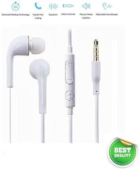 IKART Premium Quality Earphone for Samsung & All smart phones in Ear Wired Earphone with Mic.